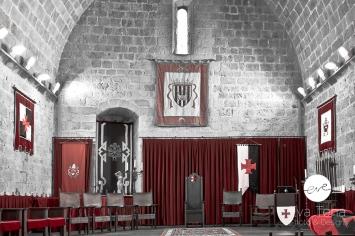 Salón Gótico del Castillo de Peñíscola (Castellón)