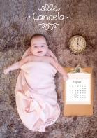 Bienvenida a la vida | Invitación de Bautizo